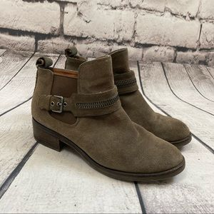 Gentle Souls Kenneth Cole Penny Suede Ankle Boots